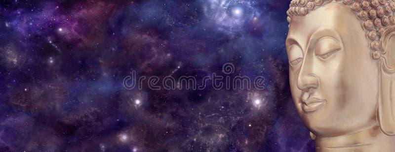 Universele Mediterende Boedha stock afbeeldingen
