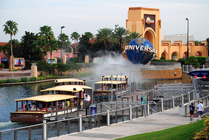 Universele Studio in Orlando, Florida stock afbeelding