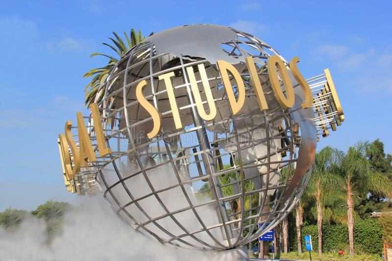 Universele Studio's Hollywood royalty-vrije stock foto