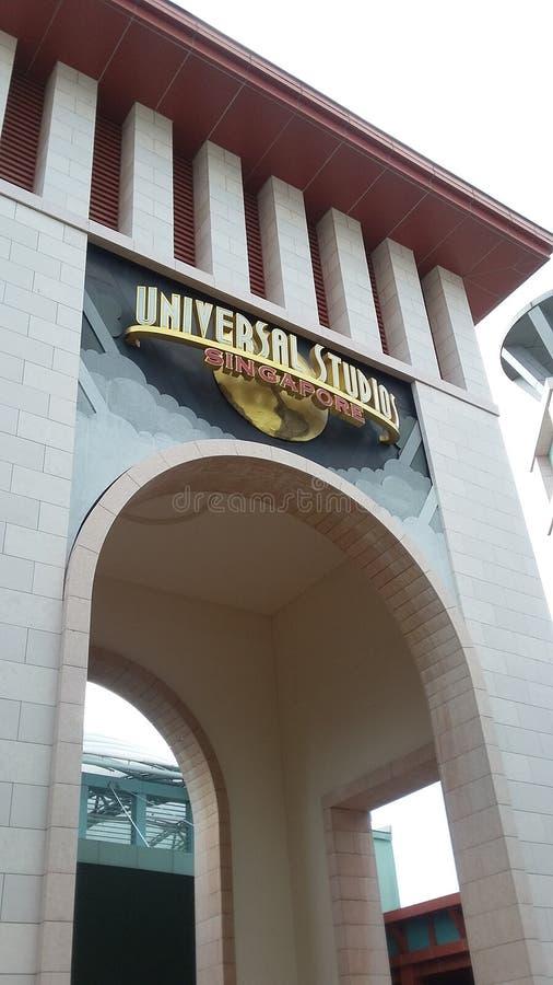 Universell studio royaltyfria bilder
