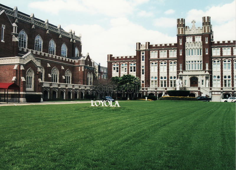 Universidad 2002 de New Orleans Loyola fotografía de archivo