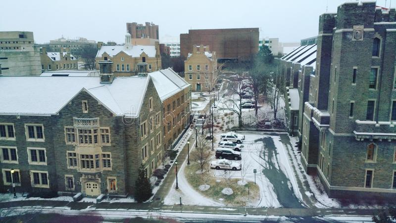 Universidad Cornell imagenes de archivo