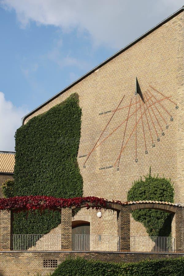 Universidad de Aarhus en Dinamarca foto de archivo