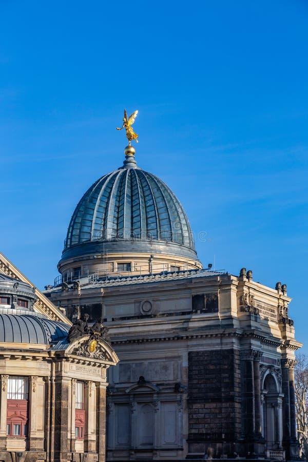 Universidad de bellas arte en Dresden, Alemania imagen de archivo libre de regalías