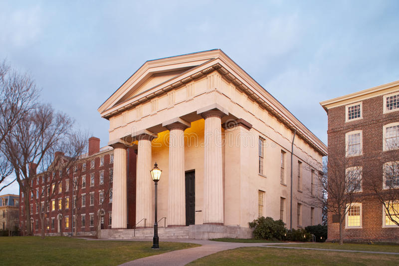 Universidad de Brown foto de archivo