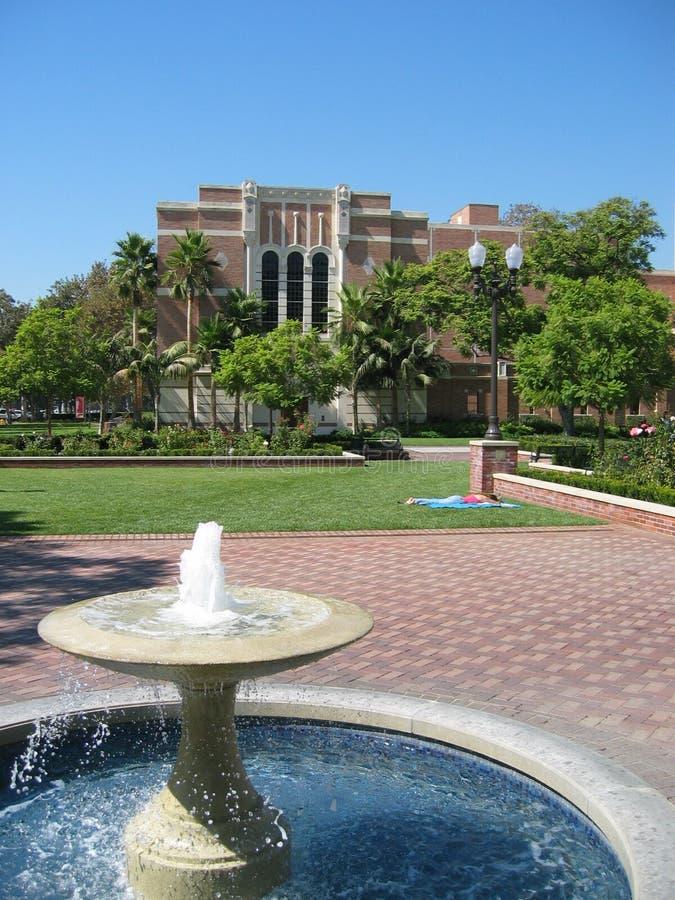 Universidad de California del Sur imagen de archivo libre de regalías