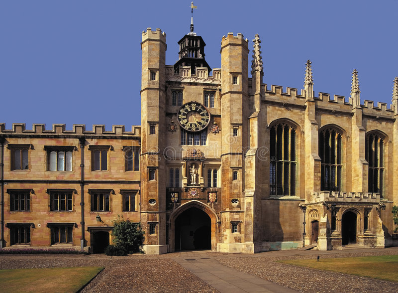 Universidad de Cambridge de la universidad de los reyes foto de archivo libre de regalías