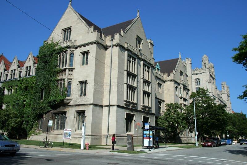 Universidad de Chicago imagen de archivo libre de regalías