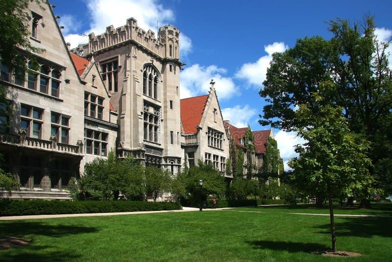Universidad de Chicago foto de archivo libre de regalías