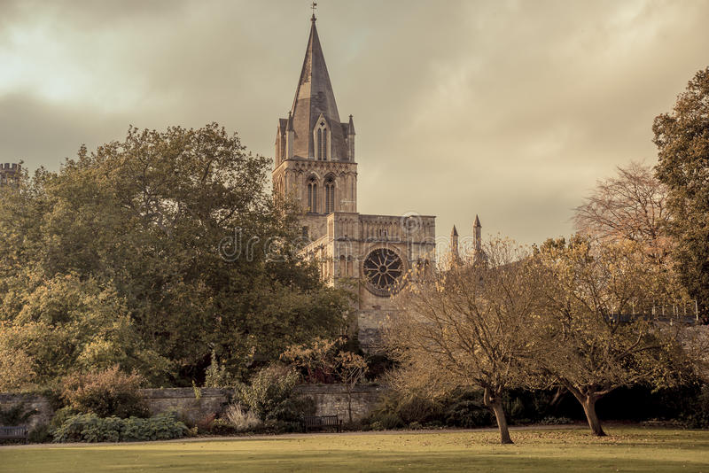 Universidad de Christchurch foto de archivo libre de regalías