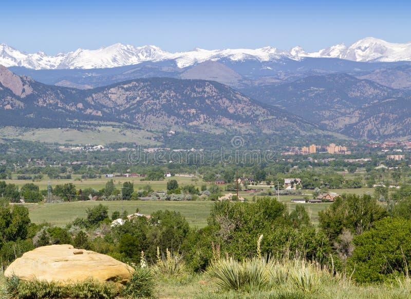 Universidad de Colorado foto de archivo libre de regalías