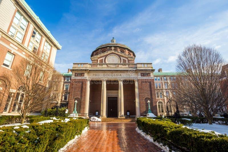Universidad de Columbia imagen de archivo libre de regalías