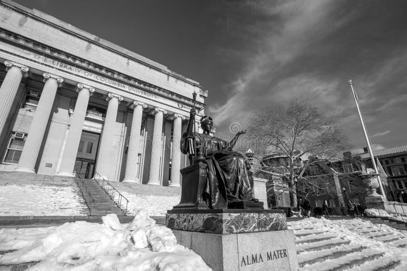 Universidad de Columbia imagenes de archivo