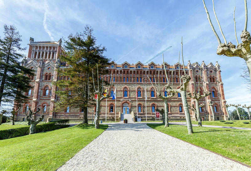 Universidad de Comillas, España imagen de archivo