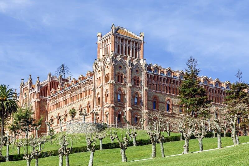 Universidad de Comillas, España fotos de archivo