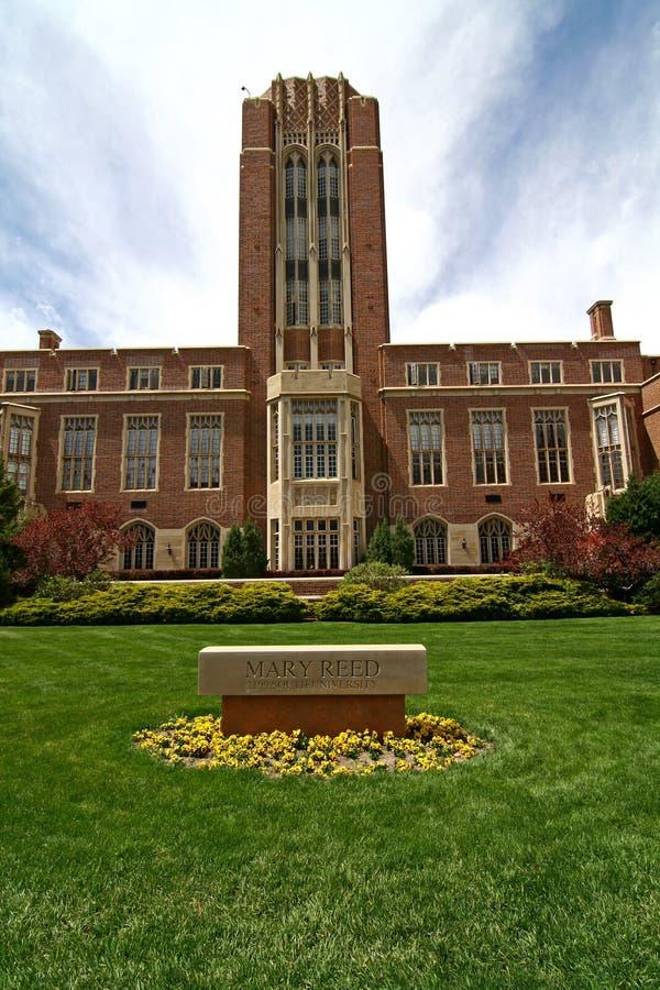 Universidad de Denver fotografía de archivo