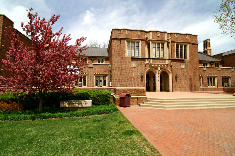Universidad de Denver fotografía de archivo libre de regalías