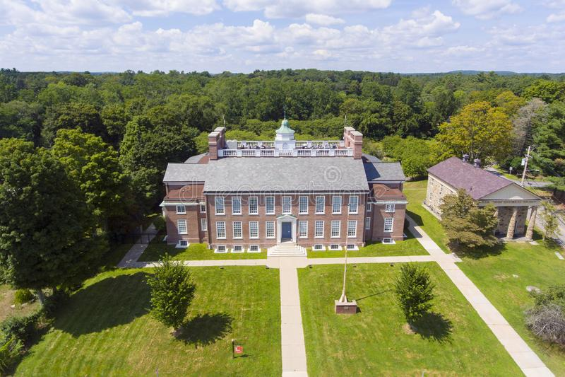 Universidad de estado de Framingham, Massachusetts, los E.E.U.U. fotos de archivo