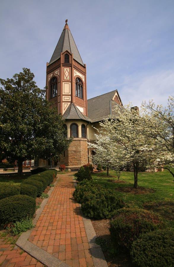 Universidad de Fisk de la capilla imagen de archivo libre de regalías