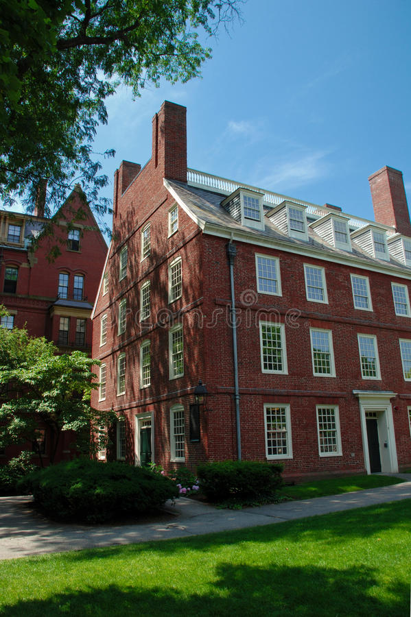 Universidad de Harvard imágenes de archivo libres de regalías