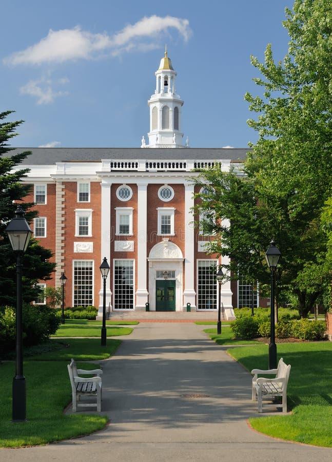 Universidad de Harvard fotografía de archivo libre de regalías