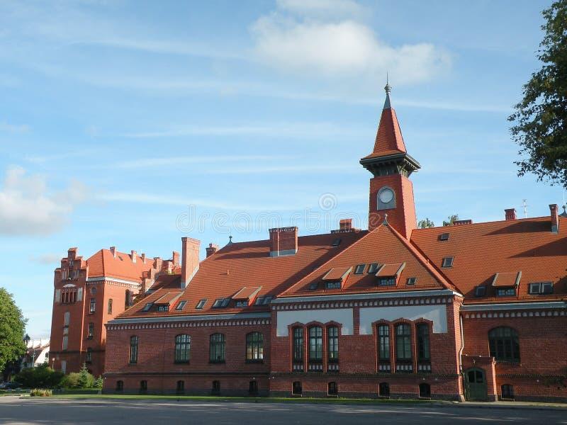 Universidad de Klaipeda imágenes de archivo libres de regalías