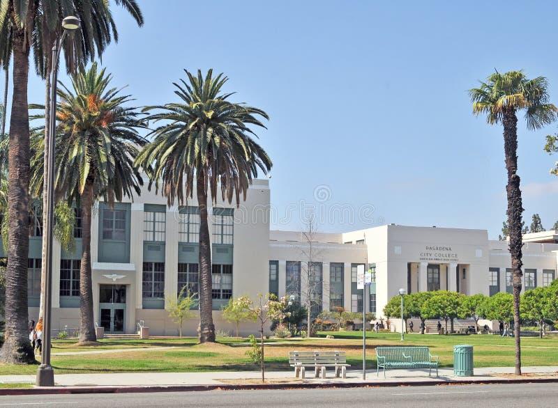Universidad de la ciudad de Pasadena imagen de archivo libre de regalías
