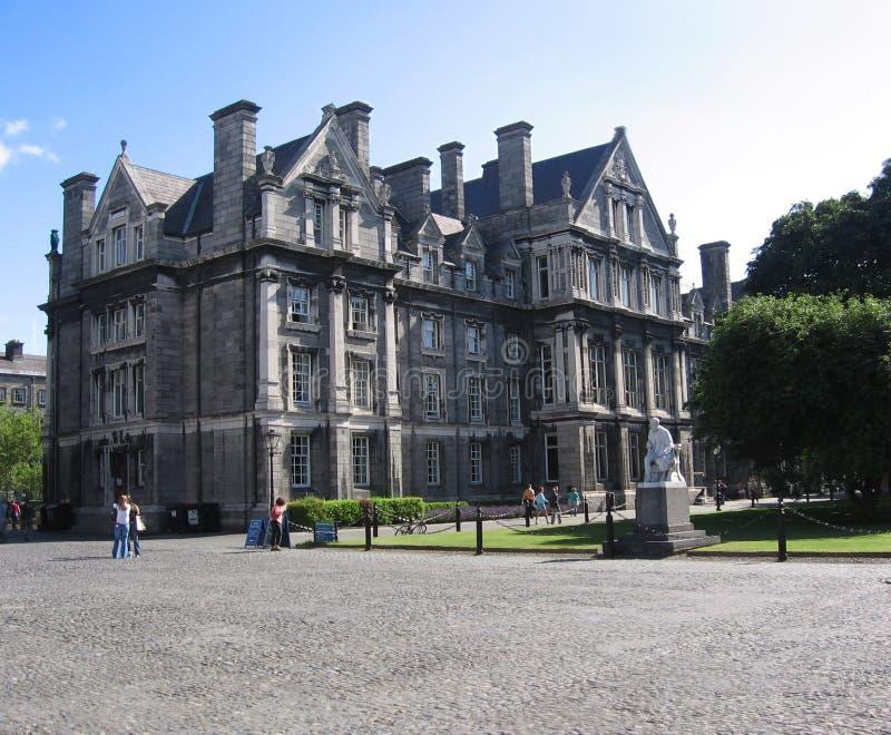 Universidad de la trinidad de Dublín, Irlanda fotografía de archivo libre de regalías