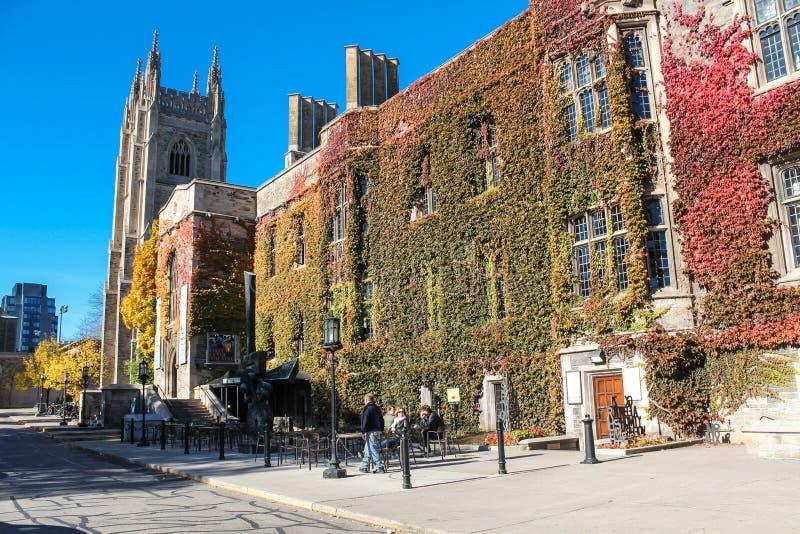 Universidad de la trinidad en la universidad de Toronto fotos de archivo libres de regalías