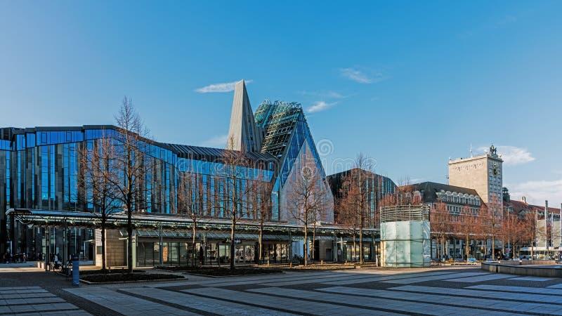 Universidad de Leipzig fotos de archivo