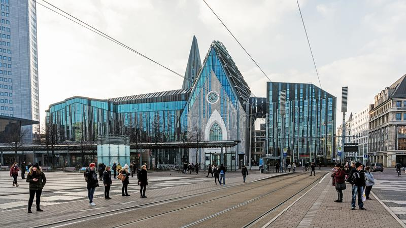 Universidad de Leipzig imagen de archivo