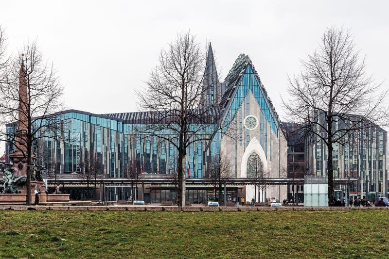Universidad de Leipzig foto de archivo libre de regalías