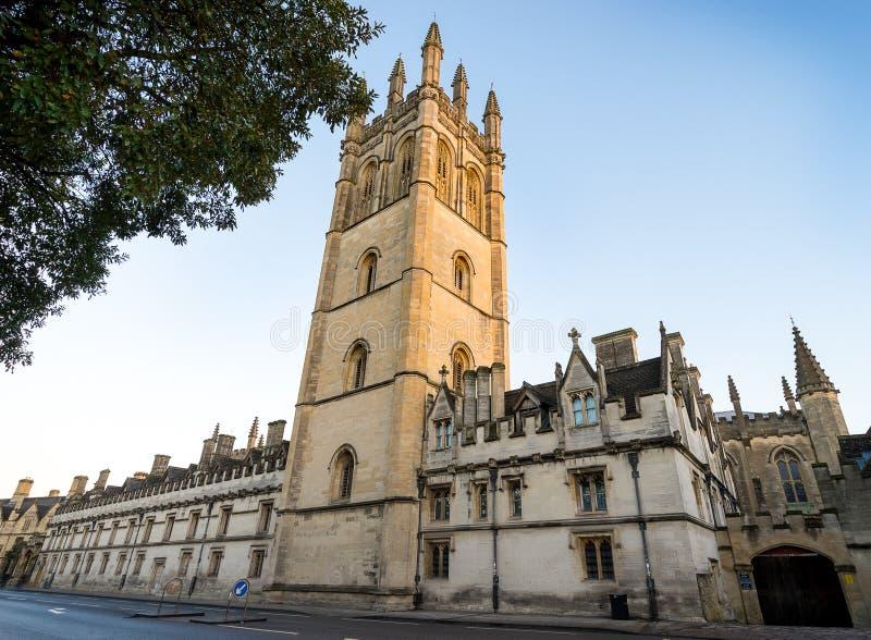 Universidad de Magdalen, Oxford foto de archivo