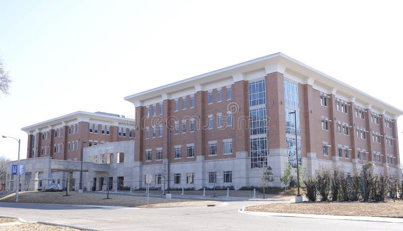 Universidad de Memphis, estudiante Health Center fotos de archivo libres de regalías