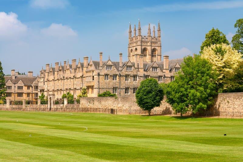 Universidad de Merton. Oxford, Reino Unido imagen de archivo