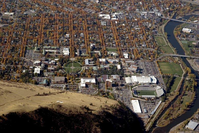 Universidad de Montana en Missoula los E.E.U.U. foto de archivo libre de regalías
