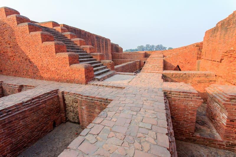 Universidad de Nalanda fotografía de archivo