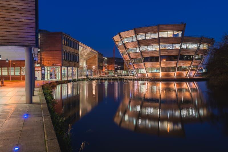 Universidad de Nottingham fotografía de archivo libre de regalías