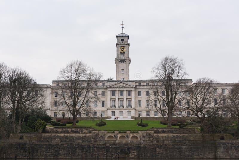 Universidad de Nottingham foto de archivo