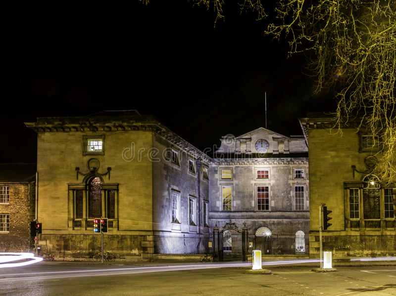 Universidad de Oxford fotografía de archivo libre de regalías