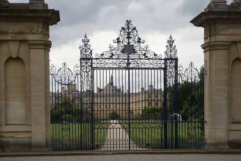 Universidad de Oxford imagen de archivo libre de regalías
