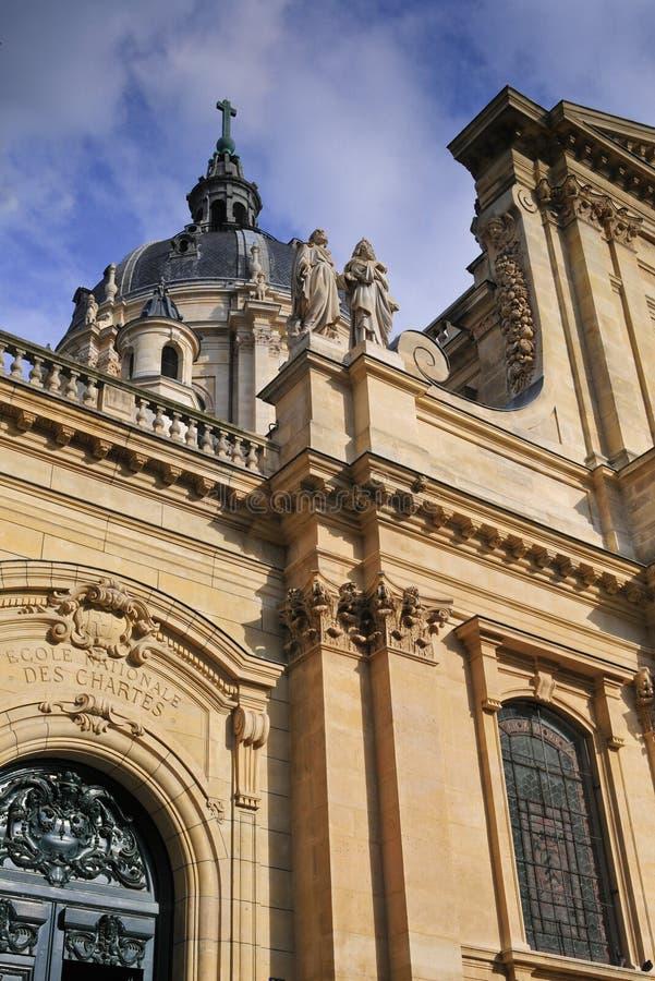 Universidad de París fotos de archivo
