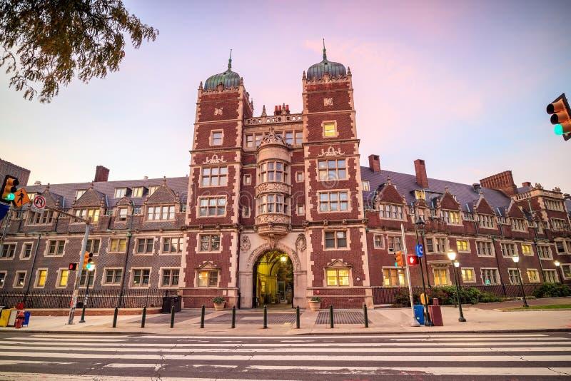 Universidad de Pensilvania fotografía de archivo libre de regalías