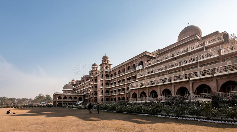 Universidad de Peshawar Paquistán foto de archivo libre de regalías