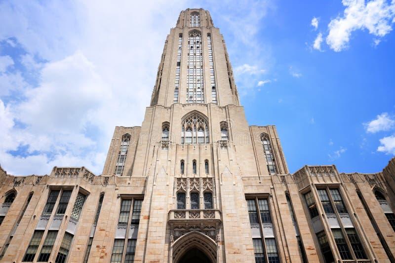 Universidad de Pittsburgh fotografía de archivo libre de regalías