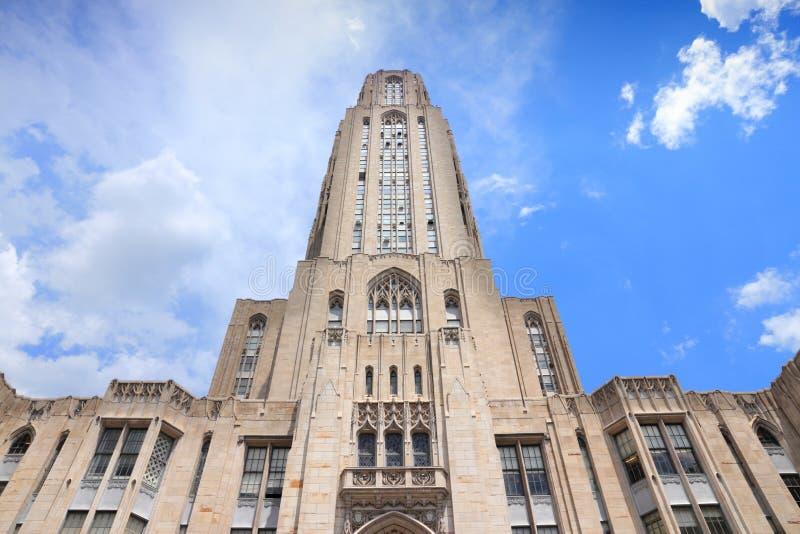 Universidad de Pittsburgh imágenes de archivo libres de regalías