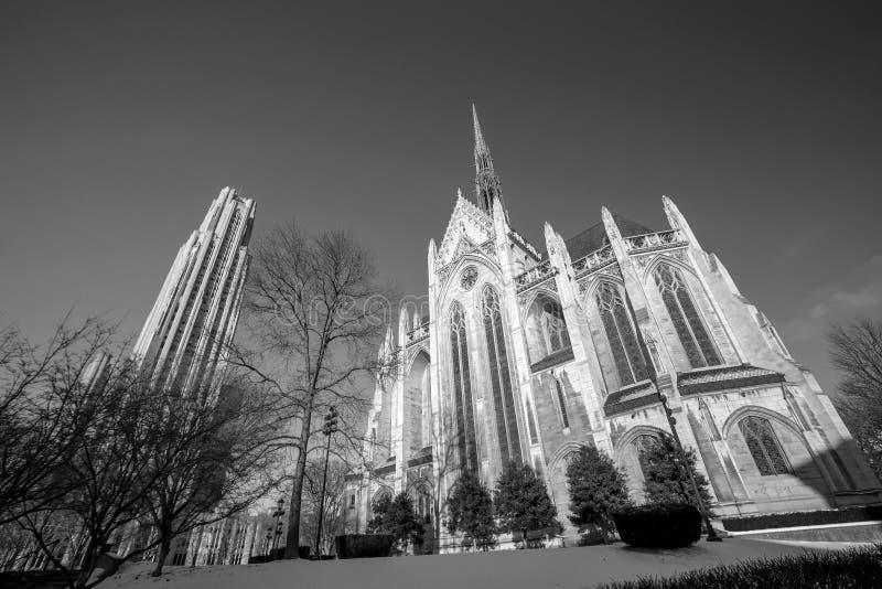 Universidad de Pittsburgh imagenes de archivo