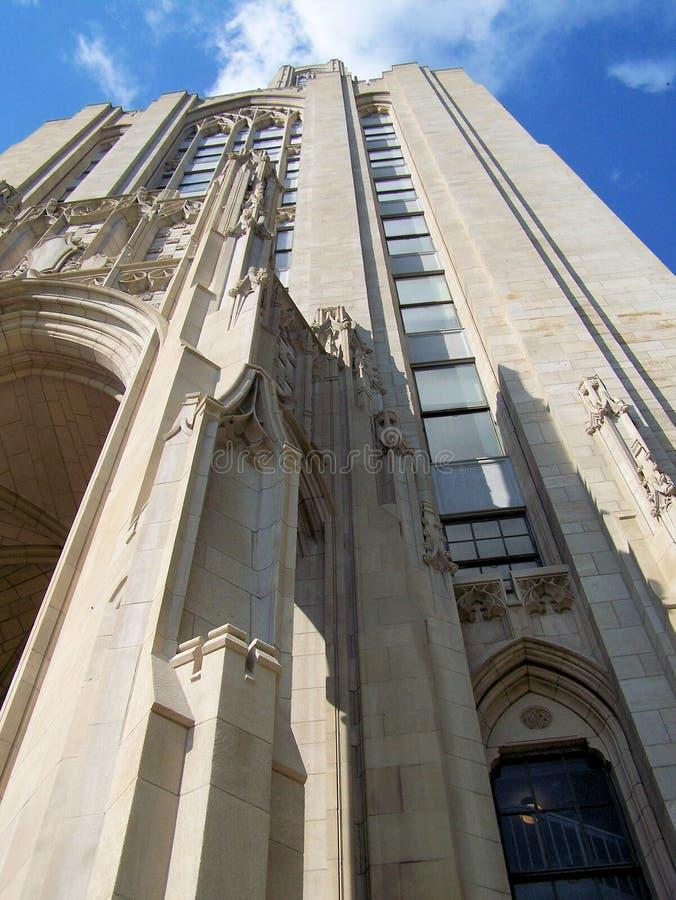 Universidad de Pittsburgh imagen de archivo