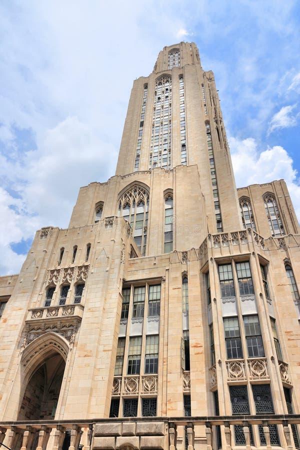 Universidad de Pittsburgh foto de archivo libre de regalías