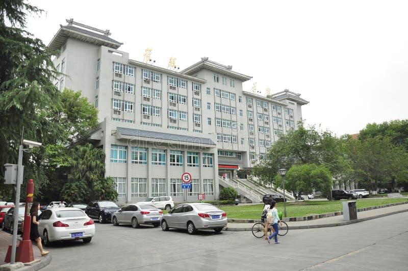 Universidad de Sichuan China imagenes de archivo